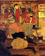 Edouard Vuillard - Bilder Gemälde - At the Theatre