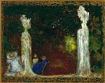 Edouard Vuillard - Bilder Gemälde - Beneath the Trees