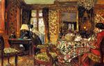 Edouard Vuillard  - Bilder Gemälde - In the Room