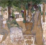 Edouard Vuillard  - Bilder Gemälde - In the Shade