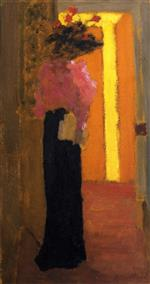Edouard Vuillard  - Bilder Gemälde - Lady of Fashion