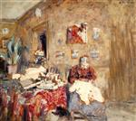 Edouard Vuillard  - Bilder Gemälde - Portrait of the Artist's Mother