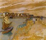 Edouard Vuillard  - Bilder Gemälde - The Banks at Pouliguen