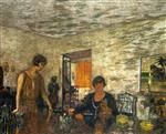 Edouard Vuillard  - Bilder Gemälde - The Black Cups