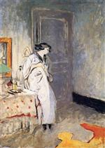 Edouard Vuillard  - Bilder Gemälde - The Blue Room - The Kimono
