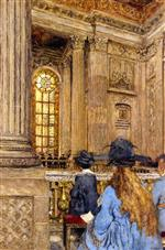 Edouard Vuillard  - Bilder Gemälde - The Chapel at the Château de Versailles