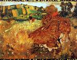 Edouard Vuillard  - Bilder Gemälde - Woman in the Countryside