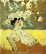 Edouard Vuillard  - Bilder Gemälde - Woman with a Hat