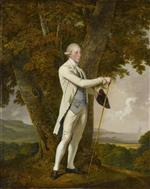 Joseph Wright of Derby  - Bilder Gemälde - Portrait of John Milnes