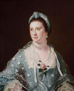 Joseph Wright of Derby  - Bilder Gemälde - Portrait of the Hon. Mrs Boyle