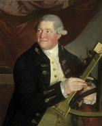 Johann Zoffany - Bilder Gemälde - Captain William Hall