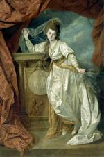Johann Zoffany - Bilder Gemälde - Elizabeth Farren as Hermione in 'The Winter's Tale'