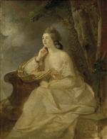Johann Joseph Zoffany - Bilder Gemälde - Elizabeth Gostling, Mrs William Hall