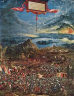 Albrecht Altdorfer - paintings - The Battle of Alexander