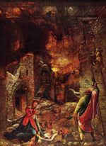 Albrecht Altdorfer - paintings - Geburt Christi