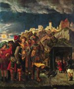 Albrecht Altdorfer - paintings - The Martydrom of St. Florian