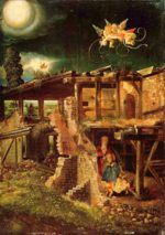 Albrecht Altdorfer - paintings - Nativity