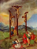 Albrecht Altdorfer - paintings - Kreuzigung Christi