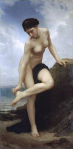 William Bouguereau - paintings - After the Bath