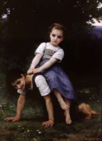 William Bouguereau - paintings - The Horseback Ride