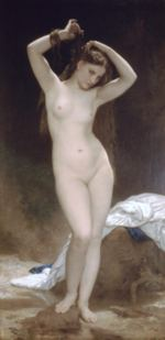 William Bouguereau - paintings - Bather