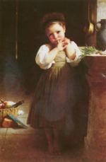 William Bouguereau - paintings - The Little Sulk