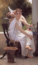 William Bouguereau - paintings - Work Interrupted