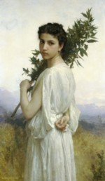 William Bouguereau - paintings - Laurel Branch