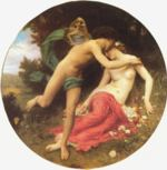 William Bouguereau - paintings - Flora and Zephyr