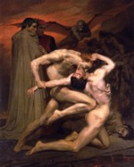 William Bouguereau - paintings - Dante and Virgil in Hell