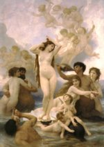 William Bouguereau - paintings - Birth of Venus