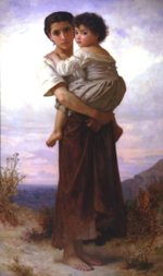 William Bouguereau - paintings - Young Gypsies