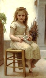 William Bouguereau - paintings - Just a Taste