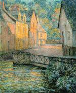 Henri Le Sidaner  - Bilder Gemälde - Golden Morning