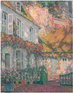 Henri Le Sidaner  - Bilder Gemälde - Mansion in the Afternoon