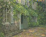 Henri Le Sidaner  - Bilder Gemälde - The House in Summer
