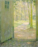 Bild:The Small Doorway at Trianon