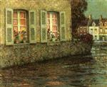 Henri Le Sidaner  - Bilder Gemälde - Windows