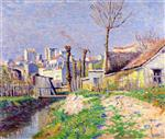 Maximilien Luce  - Bilder Gemälde - The BièVre near Paris