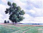 Maximilien Luce  - Bilder Gemälde - The Plains of Gresillons