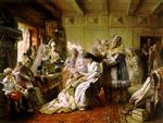 Konstantin Egorovich Makovsky - Bilder Gemälde - Before the Wedding