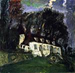 Chaim Soutine  - Bilder Gemälde - House at Oiséme