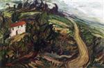 Chaim Soutine  - Bilder Gemälde - House near the Road