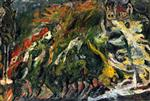 Chaim Soutine  - Bilder Gemälde - Houses on the Hill, Céret