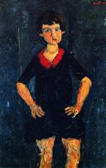 Bild:Portrait of a Child in Blue