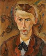 Chaim Soutine  - Bilder Gemälde - Portrait of the Painter Richard X