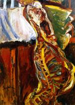Chaim Soutine  - Bilder Gemälde - Side of Beef