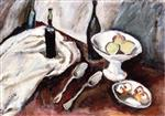 Bild:Still Life with a Fruit Bowl and Three Bottles