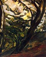 Chaim Soutine  - Bilder Gemälde - Tall Tree
