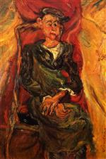 Chaim Soutine  - Bilder Gemälde - The Apprentice